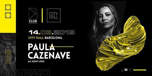 B Club  Paula Cazenave All Night Long