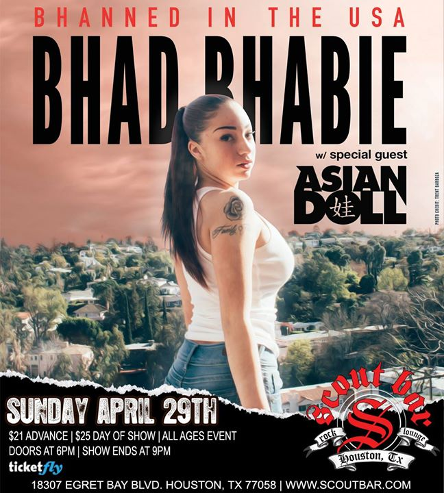 Bhad Bhabie - Bhanned in the USA w Asian Doll