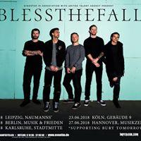 Blessthefall  Leipzig  Naumanns