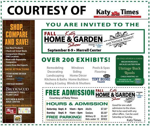 Superb Katy Fall Home And Garden Show