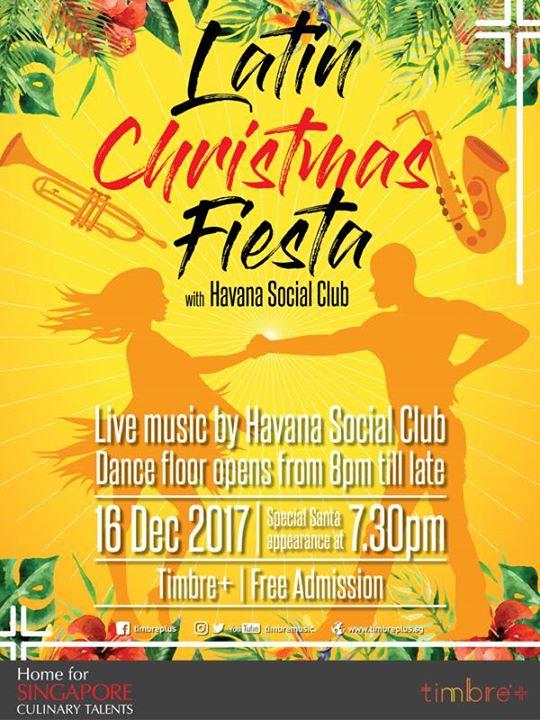 LATIN CHRISTMAS FIESTA WITH HAVANA SOCIAL CLUB