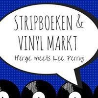 Stripboeken &amp Vinyl Markt Herge meets Lee Perry