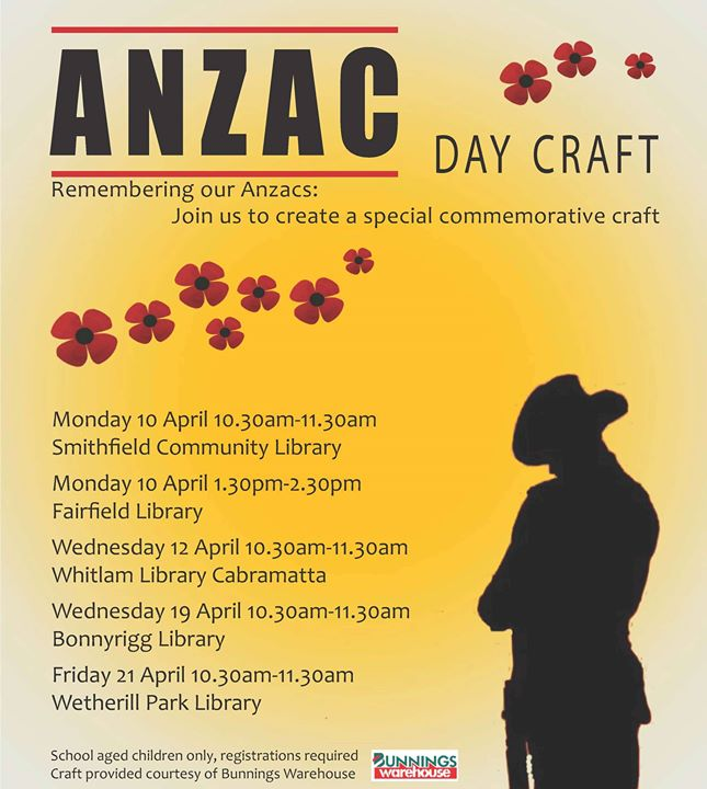 opening hours anzac day - photo #30