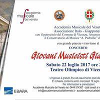 Conservatorio di Verona - concerto giovani musicisti giapponesi
