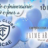 Baile de Aniversrio Tnis Clube Maca - 89 anos