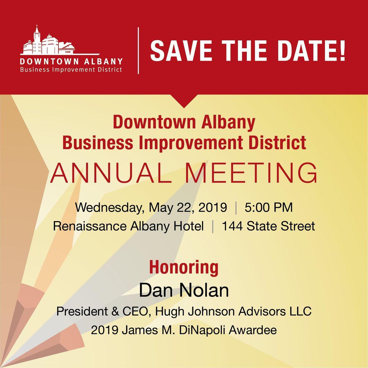 Downtown Albany BID Annual Meeting
