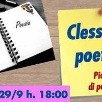 Clessidra poetica - Piccolo Cenacolo di poesia del VITC
