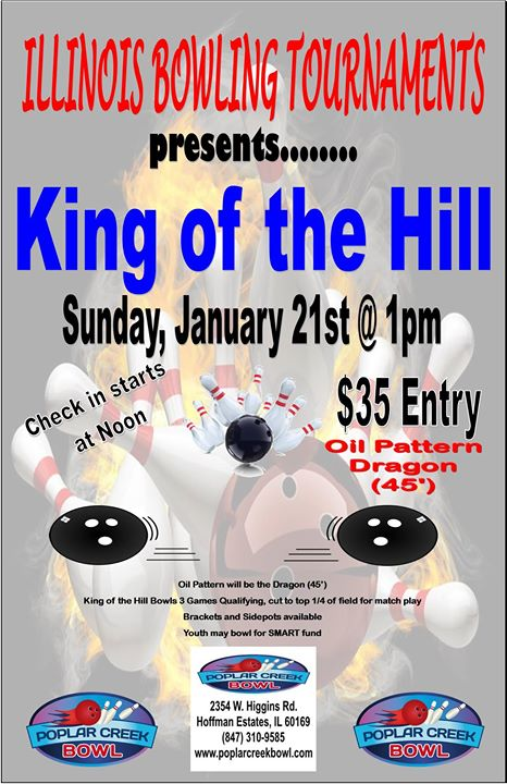 King Of The Hill 45ft Pba Dragon At