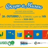 Ocupe o museu 30 anos do Ecomuseu da Itaipu