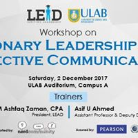 Workshop on &quotVisionary Leadership &amp Effective Communication&quot
