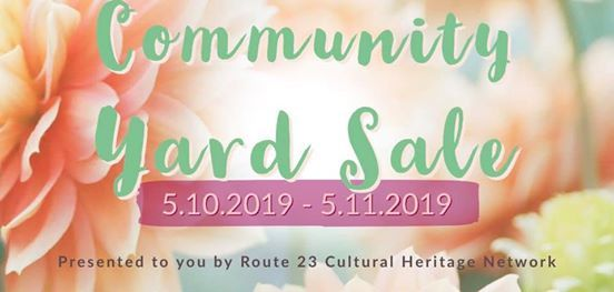 Community Yard Sale at Oil Springs Cultural Arts and