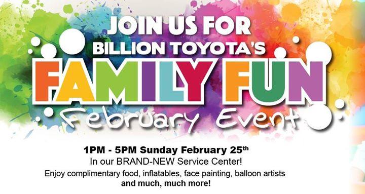 Family Fun February Event