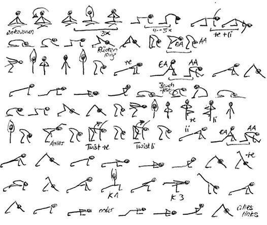 Asana-Zeichenkurs fr Yogalehrer