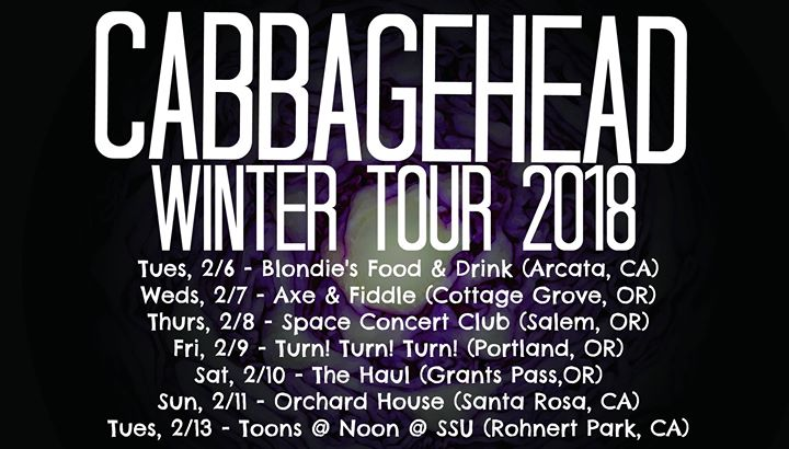 Cabbagehead, Analog Us, And That At The Orchard House