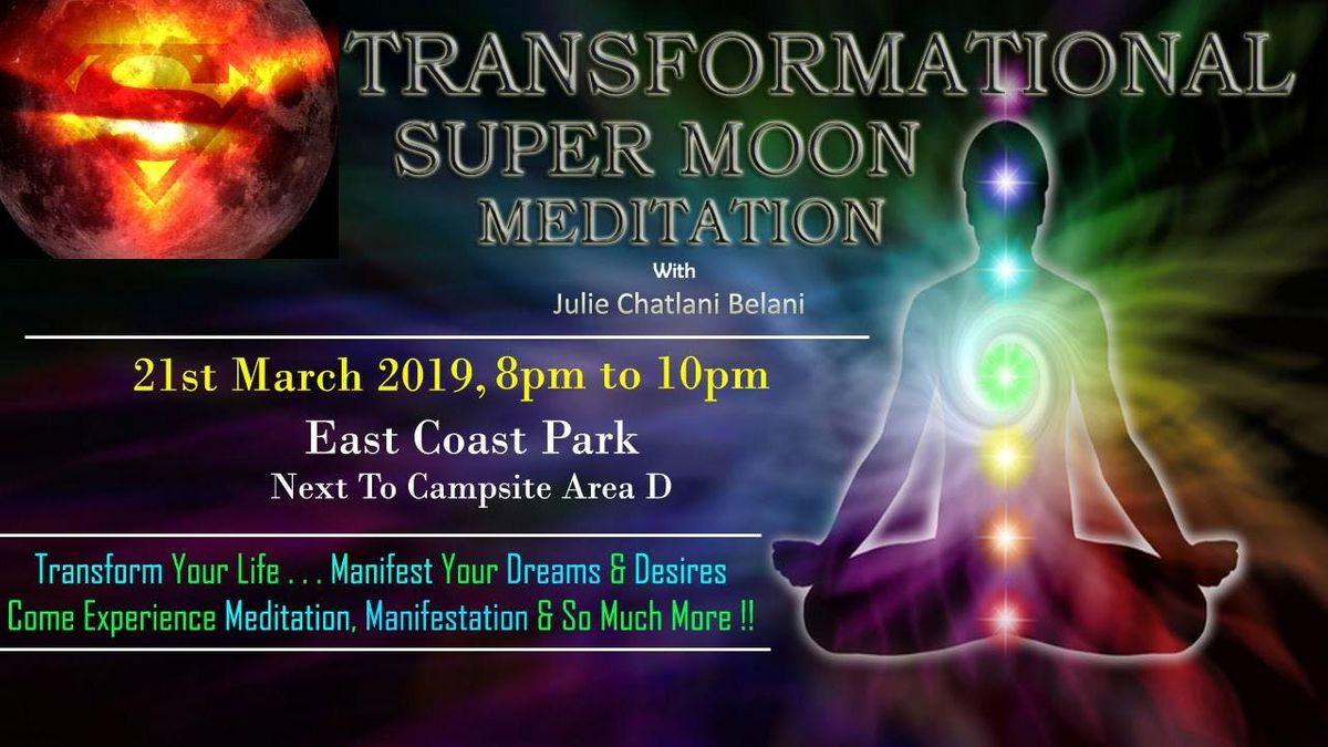 FREE Full Moon Meditation