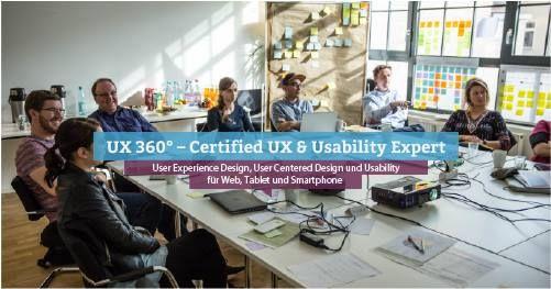 UX 360  Certified UX & Usability Expert Stuttgart