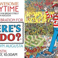 Super Awesome Storytime FIND WALDO in Downtown Augusta Kick Off