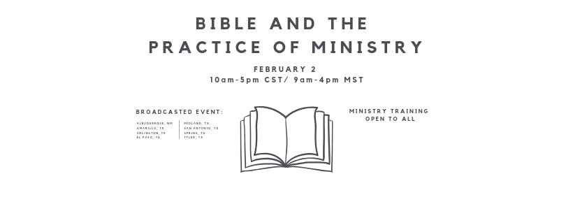 Bible and the Practice of Ministry- Arlington TX