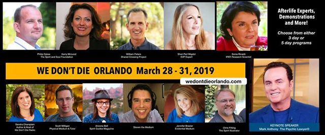 We Dont Die Orlando Three Day Event at Metaphysical Chapel of South