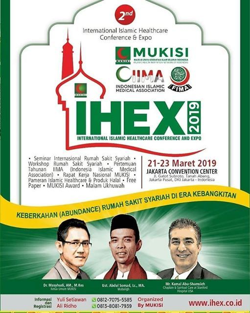 International Islamic Healthcare Conference and Expo (IHEX 2019)