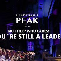 The Leadership Peak 2018