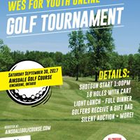 WES for Youth Online Golf Tournament