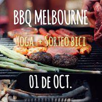 BBQ Yoga Sorteo BICI - Melbourne
