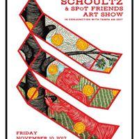 Andrew Schoultz &amp SPoT Friends Art Show