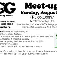 Become a Can Crusher and Join Youth Going Green