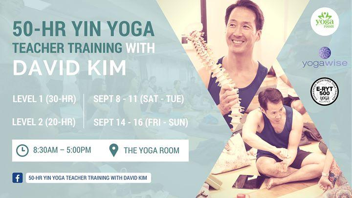 50-hr Yin Yoga Teacher Training with David Kim