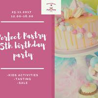 5 jaar bestaan feestje Perfect Pastry
