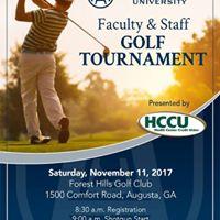 Augusta University Faculty &amp Staff Fall Golf Tournament
