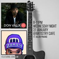 Don Valix &amp Zorsy feat Jono Lim Live at Artistry