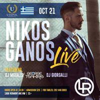 Utopia&quot Greek Night featuring Nikos Ganos Live