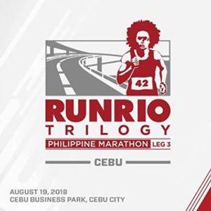 Runrio Trilogy 2018 - Philippine Marathon Cebu