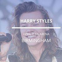 Harry Styles in Birmingham