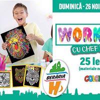 Workshop pentru copii Colorvelvet