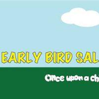Early Bird Sale