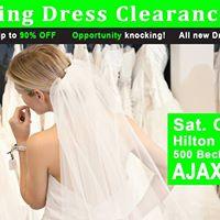 Ajax Wedding Dress Sale