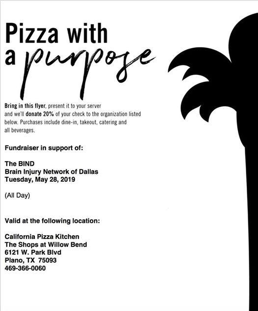 Pizza With A Purpose At California Pizza Kitchen Plano