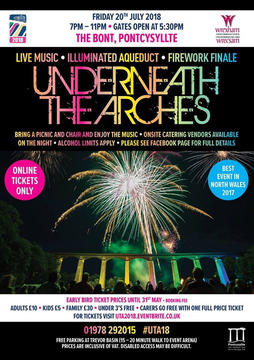 Underneath the Arches 2018