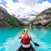 Paddling to Banff 2017