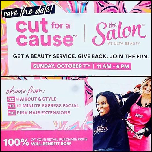Cut For A Cause Bcrf At Ulta Beauty Franklin Tn Tennessee