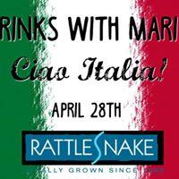 Drinks with Maria  Ciao Italia