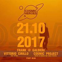 21.10.2017 Cosmic at Frank