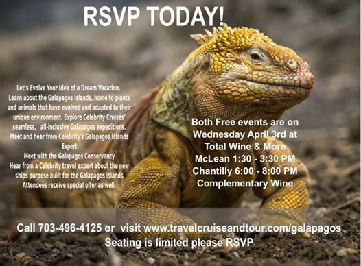 Galapagos Islands Free Event
