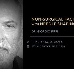 Non-surgical facial lift with Needle Shaping