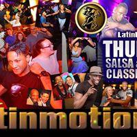 LatinMotion weekly Thursdays Salsa &amp Kizomba Classes &amp Party