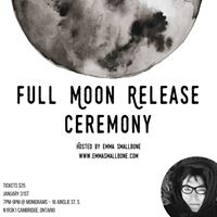 Full Moon Release Ceremony  January 31st