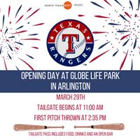 Rangers Opening Day at Globe Life Park
